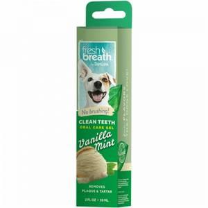 Bilde av Tropiclean Oral Care Gel, Vanilje & minnt - Tannkrem til hund