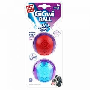 Bilde av GiGwi Ball 2-pack, medium - Ball til hund