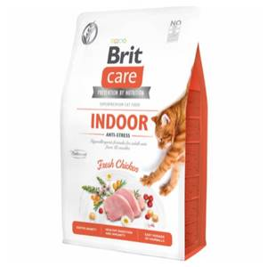 Bilde av 2 kg Brit Care Indoor Anti-Stress, Grein-Free - Kattemat