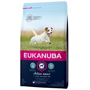 Bilde av 3 kg Hundemat Eukanuba Active Adult Small Breed