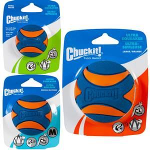 Bilde av Hundeleke Ultra Squeaker Ball, Chuckit - Ball Med Lyd