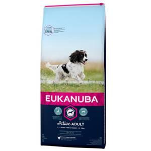 Bilde av 15 kg Hundemat Eukanuba Active Adult Medium Breed