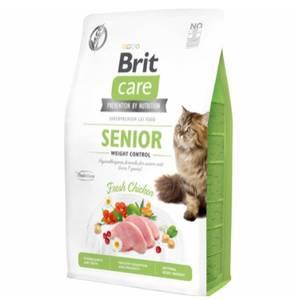 Bilde av 2 kg Brit Care Senior And Weight Control - Kattemat