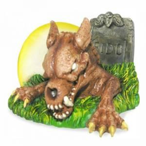 Bilde av Zombie hund akvariedekorasjon, selvlysende akvariepynt