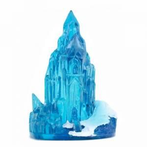 Bilde av Frost is-slott akvarium dekorasjon. is-slottet fra Frozen