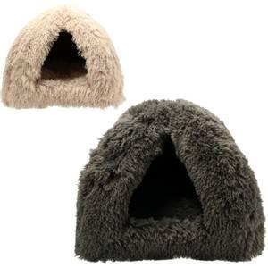Bilde av Dogman Cat Iglo Shaggy - Kattehule med fleecepels