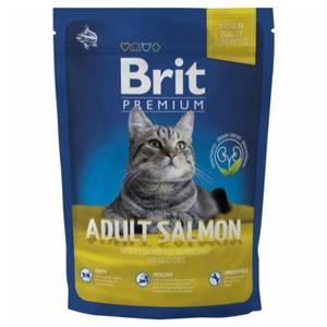 Bilde av 1,5 kg Brit Premium Adult Salmon- Kattemat Med Laks
