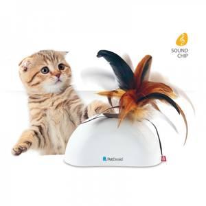 Bilde av Feather Hider Pet Droid, kattelek med bevegelses aktivering lydc