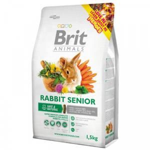 Bilde av Brit Animals 1,5 kg RABBIT SENIOR Complete - Mat eldre kaniner