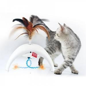 Bilde av Interaktiv Katteleke GiGwi Feather Spinner Pet Droid - 3 Sensore