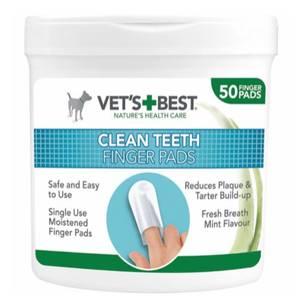 Bilde av Finger Pads Hund Vet's Best Clean Teeth Finger Pads - Tannhelse