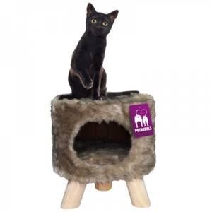 Bilde av Petrebels Kattehule Victoria 45 Royal, brun - Seng til katt