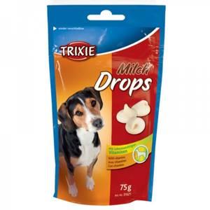 Bilde av Godbit Hund Trixie Melkedrops Med Vitamin, 75 g - Hundesnacks