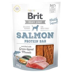 Bilde av Salmon Protein Bar, Brit Meaty Jerky - Godbit Hund