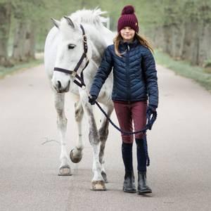Bilde av Ridebukse Barn/Junior Hedvig Jacson, Burgunder - Full Grip