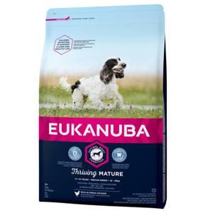 Bilde av 3 kg Hundemat Eukanuba Thriving Mature & Senior Medium
