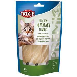 Bilde av Godbit Katt Premio Chicken Matatabi Tenders, Trixie - Kylling