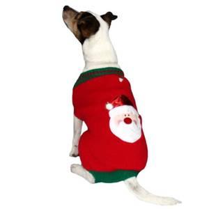 Bilde av Julegenser Hund GoodBoy Julenisse Genser