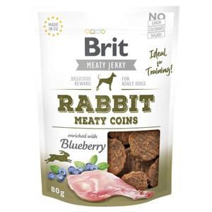 Bilde av Rabbit Meaty Coins, Brit Meaty Jerky - Godbit Hund
