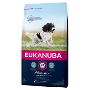 Bilde av 3 kg Hundemat Eukanuba Active Adult Medium Breed