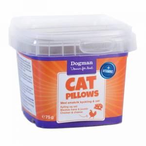 Bilde av Godbit Katt Dogman Cat Pillows Kylling Ost - Kattegodbit