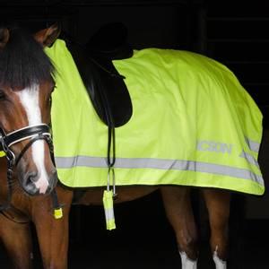 Bilde av Skrittedekken Neongul Jacson - Refleks Dekken Hest