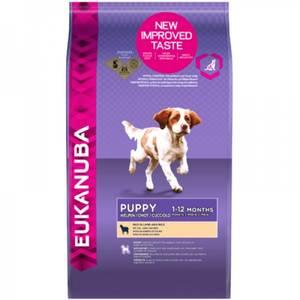Bilde av 2,5 kg Hundemat Eukanuba Puppy Small & Medium Lamb & Rice - Valp
