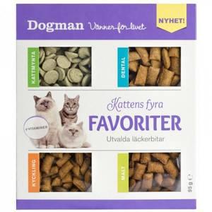 Bilde av Godbit katt Dogman Kattens fire favoritter