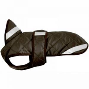 Bilde av Hundedekken Quilt, brun. Vannavvisende dekken til hund