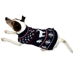Bilde av Julegenser Hund Vinter - Hundegenser