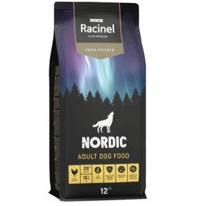 Bilde av 12 kg Racinel Nordic Adult Dog Food, Fresh Chicken - Hundemat Ky
