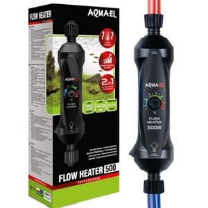 Bilde av Flow Heater 500W, Aquael - Intelligent Utvendig Varmekolbe