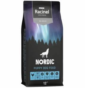 Bilde av 12 kg Racinel Nordic Puppy Dog Food, Kylling - Kornfri Hundemat