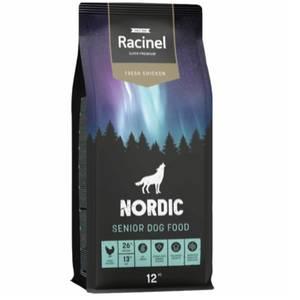 Bilde av 12 kg Racinel Nordic Senior Dog Food, Fresh Chicken - Hundemat