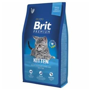 Bilde av 8 kg Brit Premium Kitten - Kattemat Til Kattunger