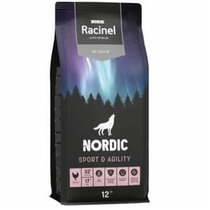 Bilde av 12 kg Racinel Nordic Sport & Agility Dog Food No Grain, Kylling
