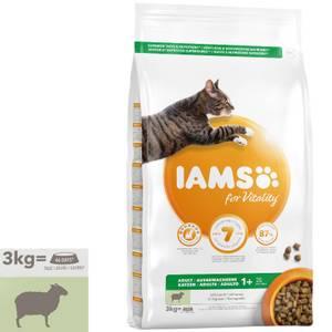 Bilde av 3 kg Iams Adult Vitality, Lamb - Kattemat