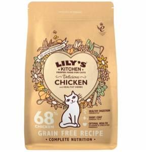 Bilde av 2 kg Delicious Chicken Lily's Kitchen - Kattemat Voksen Katt