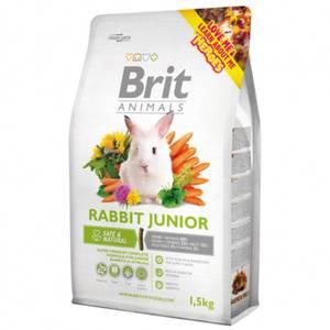 Bilde av Brit Animals 1,5 kg RABBIT JUNIOR Complete - Junior kanin mat
