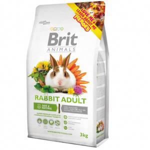 Bilde av Brit Animals 3 kg RABBIT ADULT Complete - Voksen kanin mat