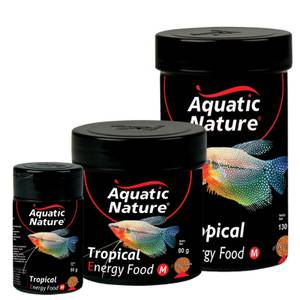 Bilde av Tropical Energy Food M, Aquatic Nature - Fiskemat Akvarie Fisk