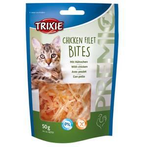 Bilde av Godbit Katt Kylling Filet Biter Trixie Premio - Kattesnacks