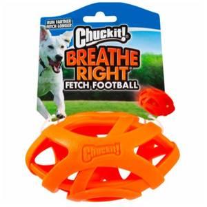 Bilde av Hundeleke Breathe Right Fetch Football, Chuckit - Ball Til Hund