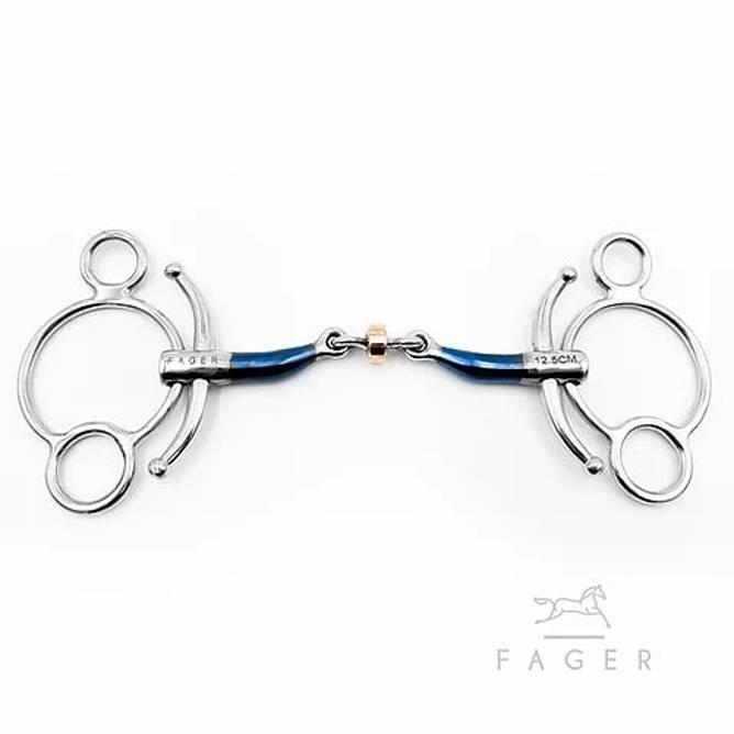 Bilde av JULIA - Fagers Tounge Relief Copper Roller Baby