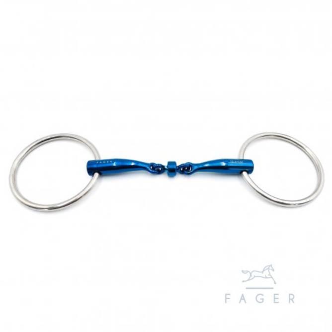 Bilde av BIANCA - Fagers Titanium Roller Loose Rings bit