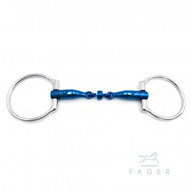 Bilde av BIANCA - Fagers Titanium Roller Eggbutts bit