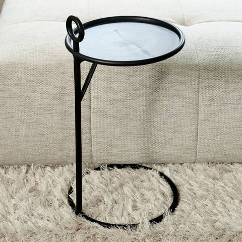 Bilde av RIVIERA MAISON - NOLITA SIDE TABLE BLACK