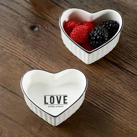 Bilde av RIVIERA MAISON - LOVE TO BAKE BOWL 2 PK