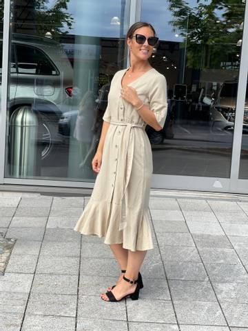 Bilde av ANNLEE DRESS - LIN