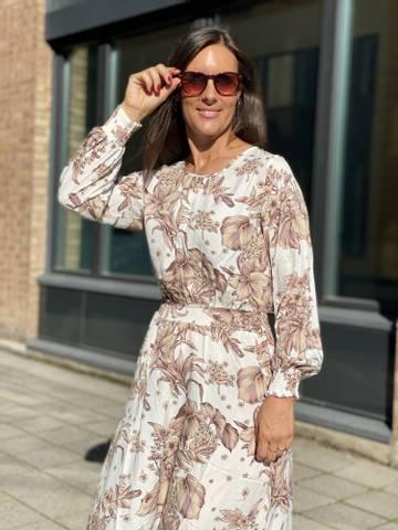 Bilde av MAY DRESS - CREAM/ROSE